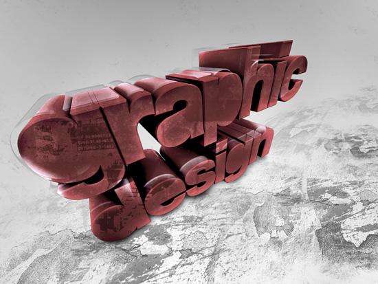 3d буквы