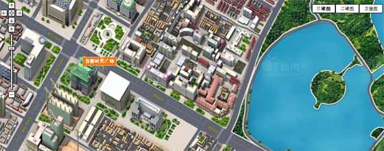 3D карты Китая