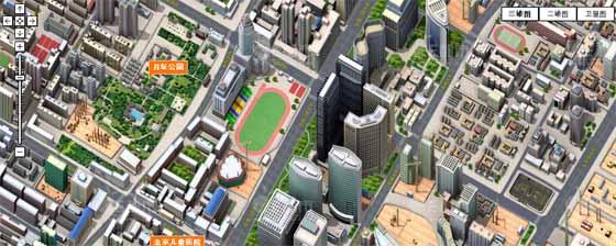 3D карты города