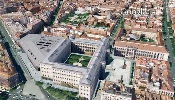 Мадрид 3d