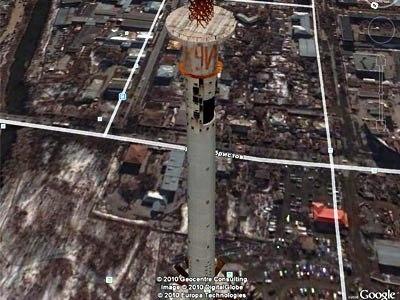 3D модель Екатеринбургской телебашни