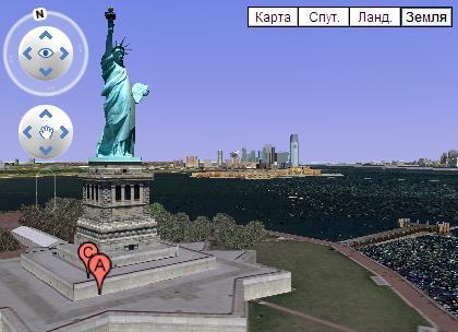 Модели 3d - Статуя Свободы