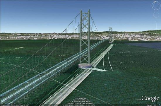 мост-Akashi-Kaikyo
