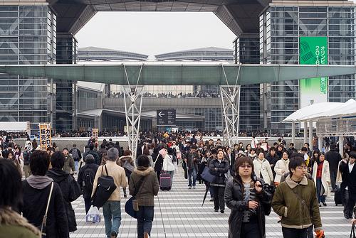 tokyo big sight посетители