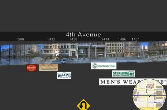 Карты Бинг streetside