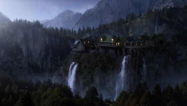 Дом на скалах