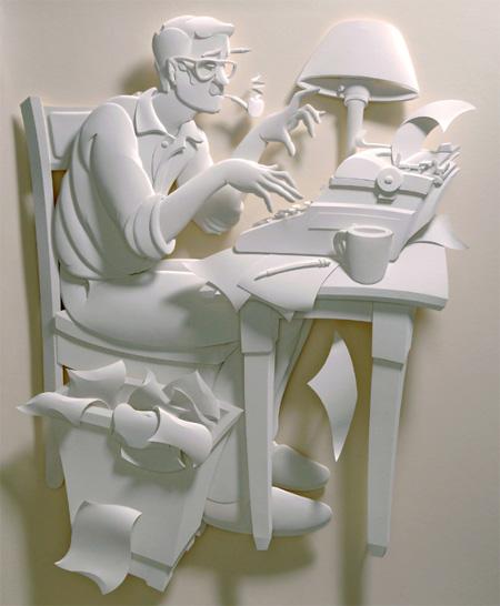 Писатель бумажный