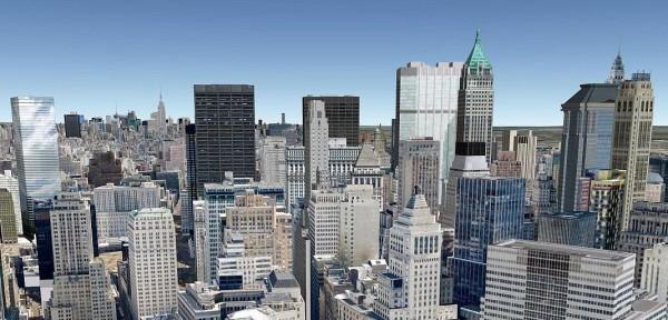 Гугл картам 3D