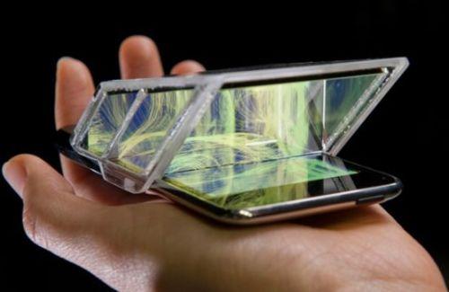 3d дисплей для мобильных устройств