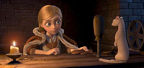 Герда из 3D мультфильма Снежная королева