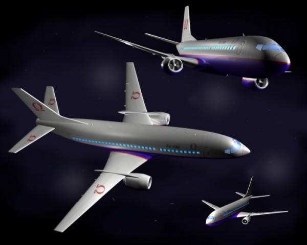 3D на авиасалоне