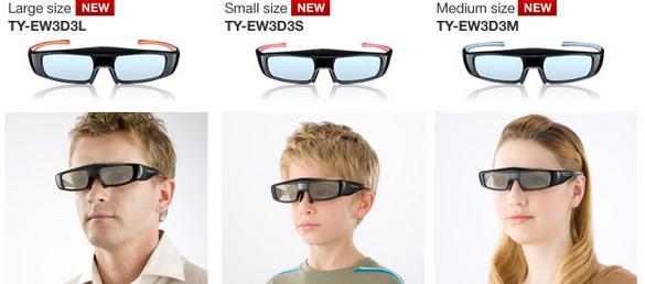 Самые лёгкие 3D очки