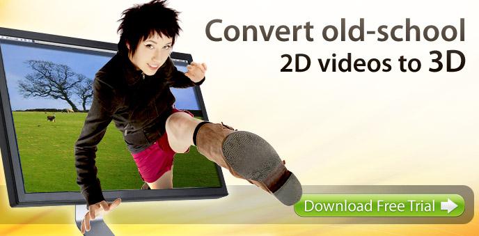 как просмотреть фильм в 3d на компьютере